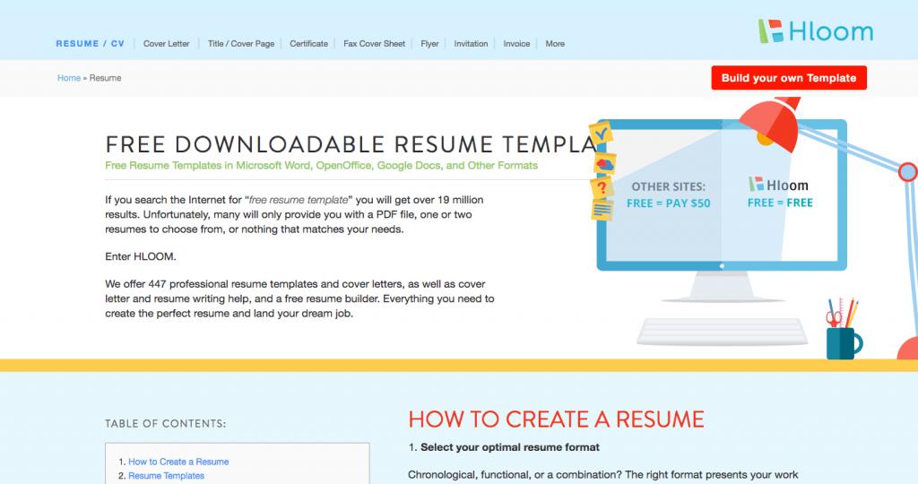 Template Dan Contoh Resume Yang Menarik Untuk Mohon Kerja